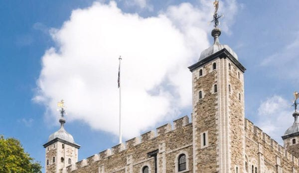 Visit the White Tower at the Tower of London