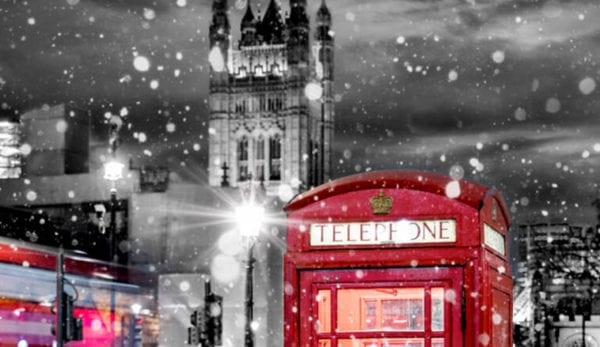 See London in the warm this winter!